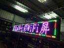 WIFI七彩LED字幕機