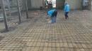 新都路孔地平,全都用捍接的整地工程 (2)