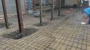 新都路孔地平,全都用捍接的整地工程 (4)