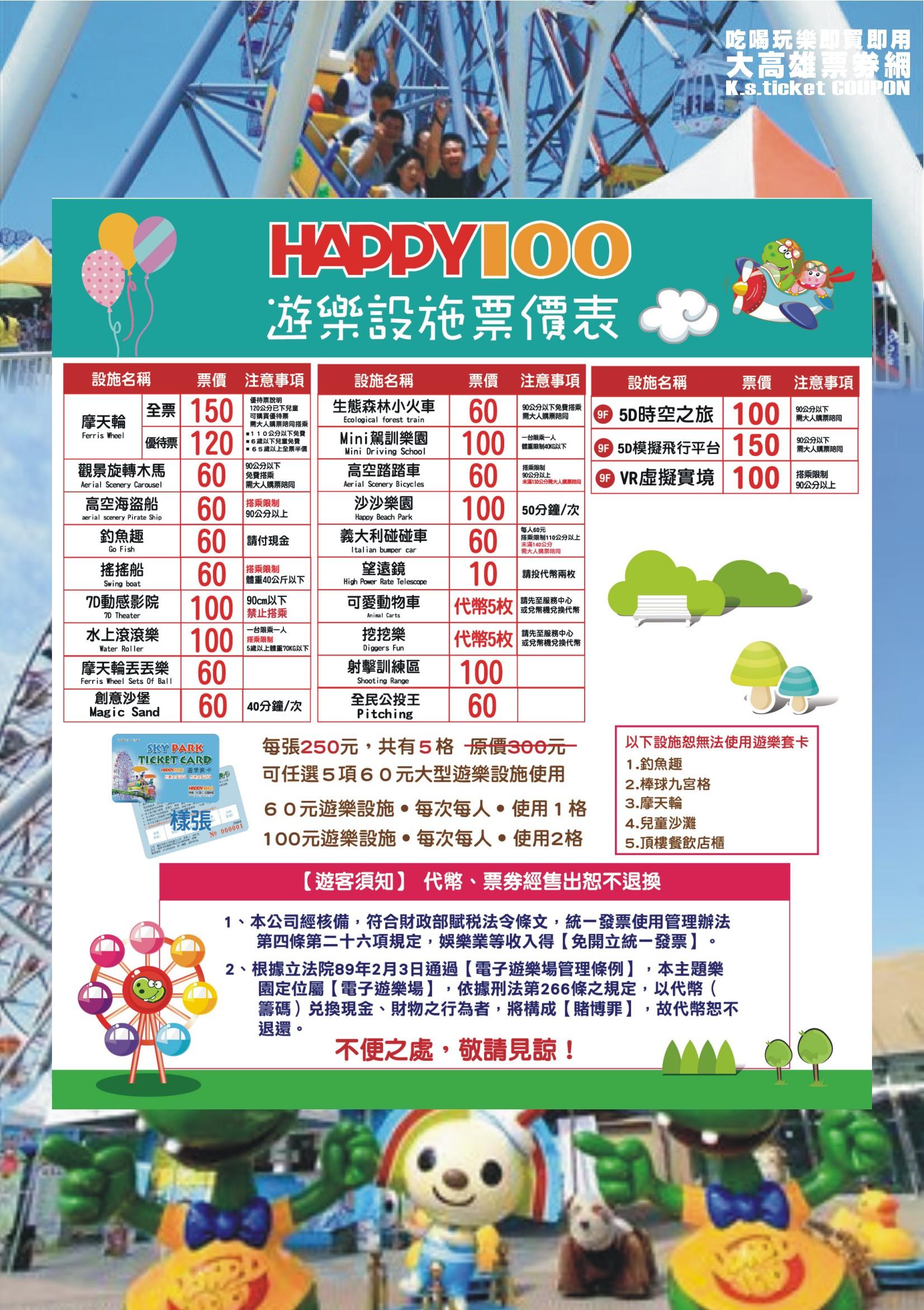 夢時代HAPPY100空中主題樂園3.JPG