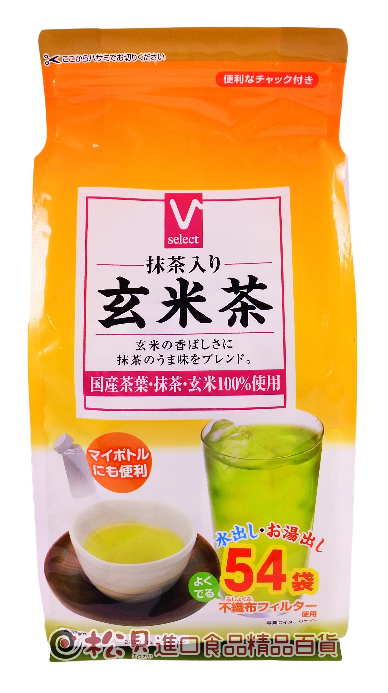 Valor抹茶玄米茶54袋162g【4539114051760】.jpg