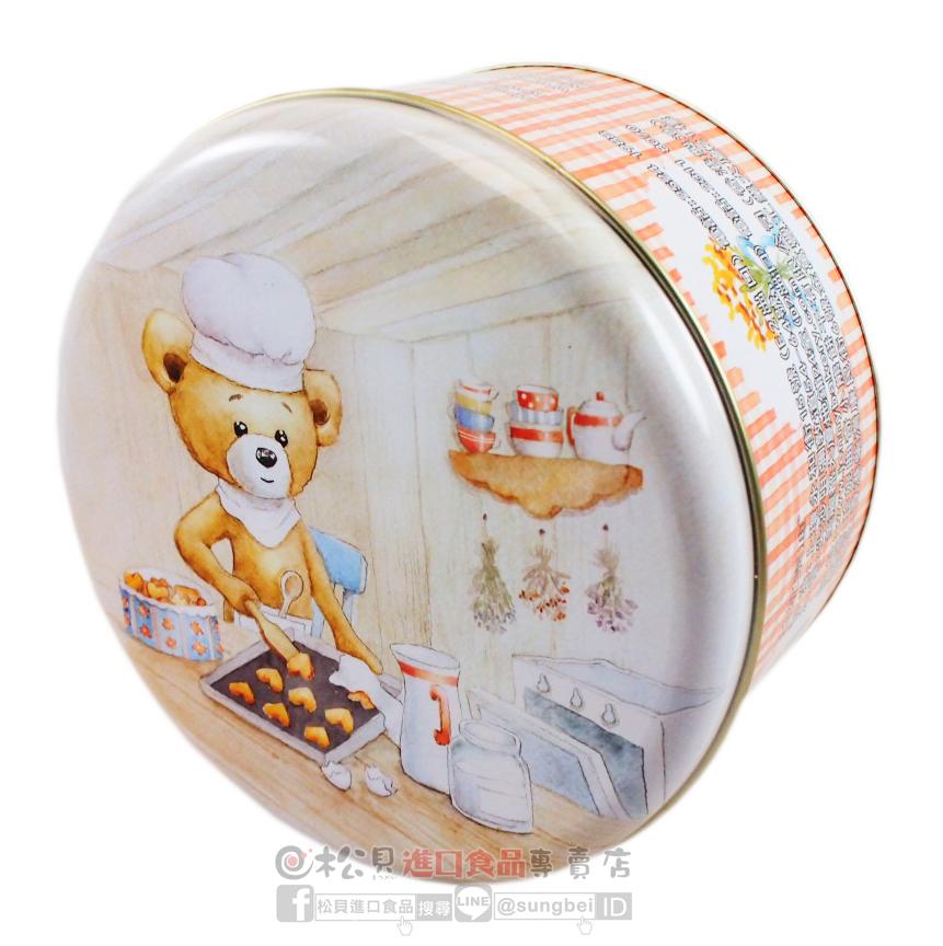 聰明小熊四味奶油曲奇餅罐(大)640g1.jpg