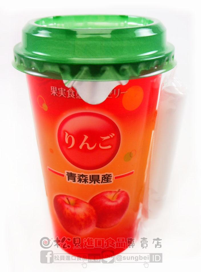 SASNA果實凍飲(蘋果)160g【4901816212051】.jpg