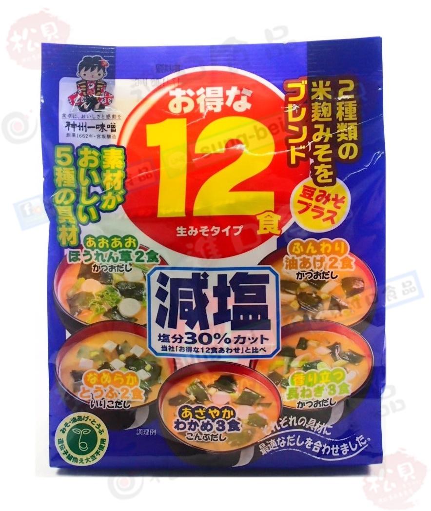 宮板神州減鹽味噌12入182g【4902703083051】.JPG