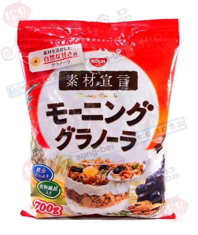 日清素材宣言穀物早餐片700g【4901620164003】.JPG