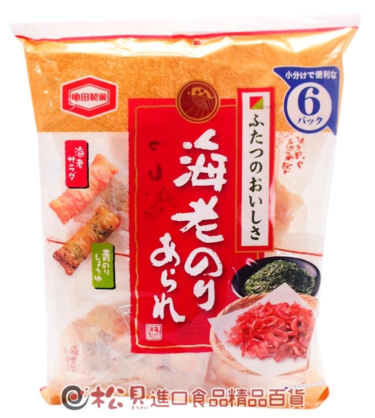 龜田海苔蝦米果6袋73g【4901313196755】.jpg