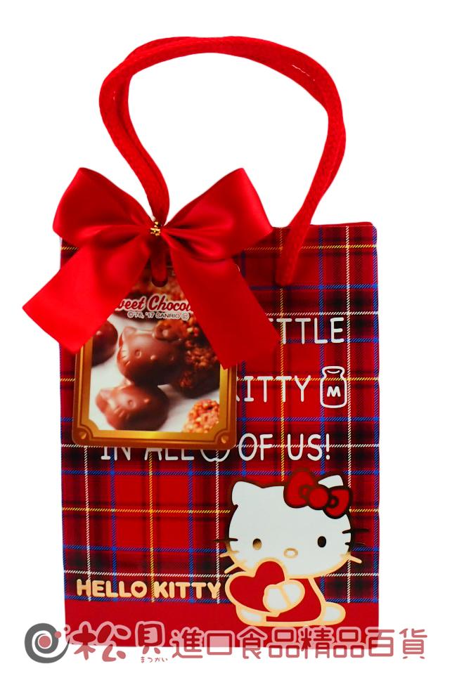 HEART凱蒂貓造型巧克力(提袋)72g【4977629623582】.jpg