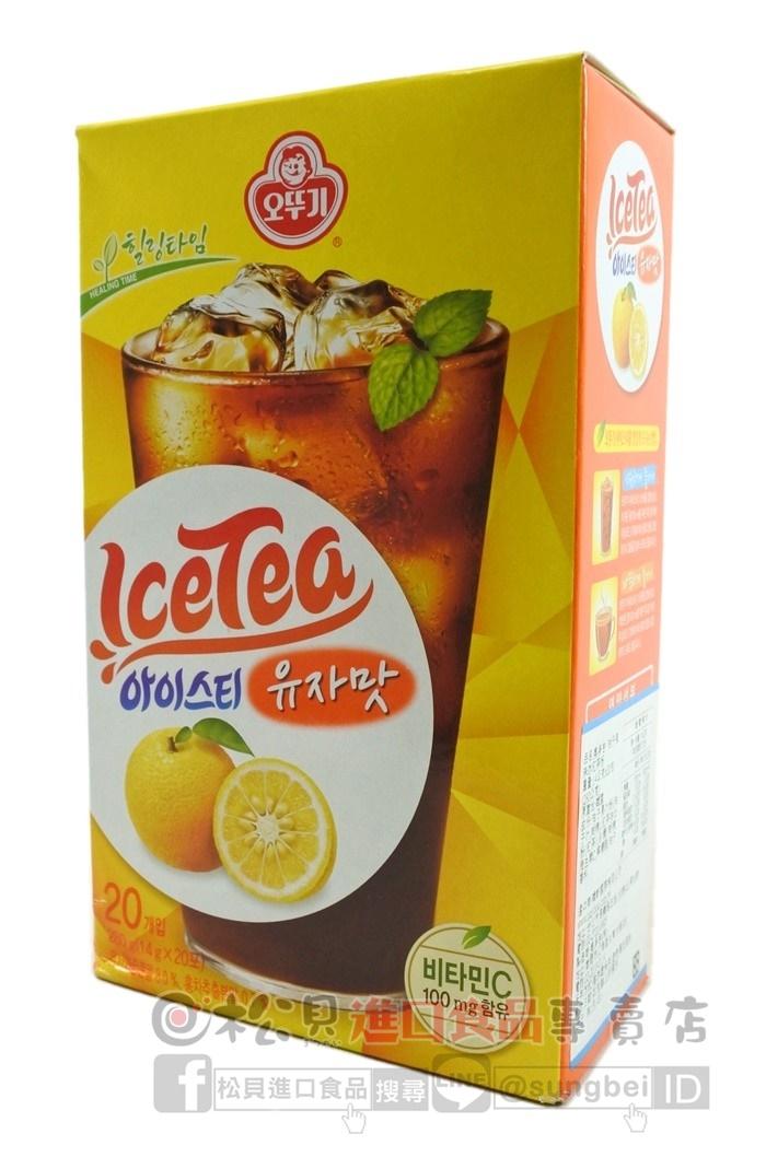 奧多吉柚子冰紅茶粉280g【8801045070698】.JPG