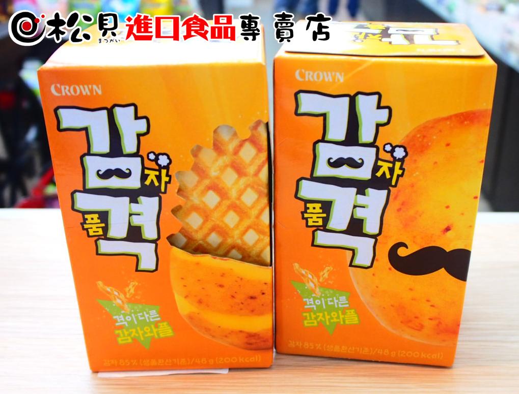 CROWN馬鈴薯鬆餅6入48g.jpg