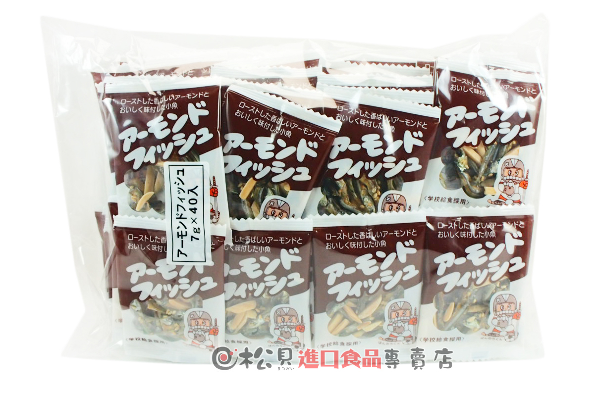 藤尺杏仁小魚乾40袋280g【4902524601380】.jpg