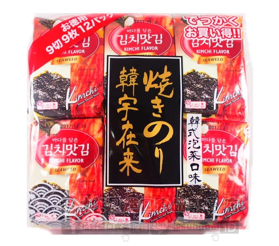 韓宇在來海苔(韓式泡菜口味)54g【8809023461919】.JPG