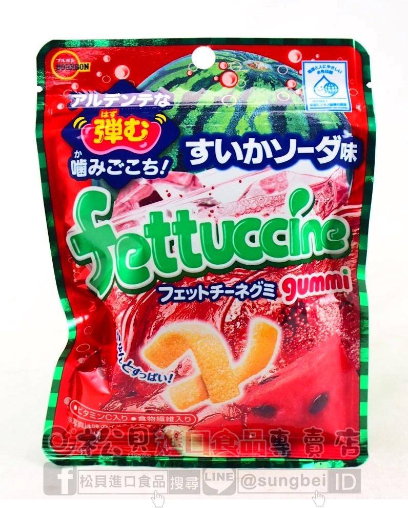 北日本長條西瓜蘇打軟糖50g【4901360326211】.JPG
