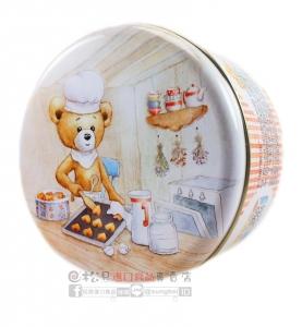 聰明小熊四味奶油曲奇餅罐(大)640g【4897069530021】