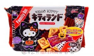 固力果凱蒂貓巧克力餅(萬聖版)149g【4901005530737】