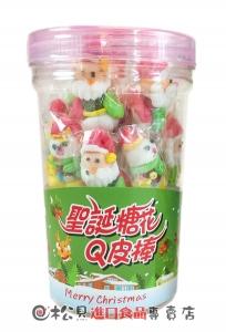聖誕糖花Q皮棒罐100g【4712893940931】