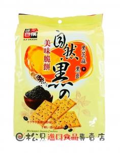 味覺百譔自然黑美味脆餅432g【9555622109286】