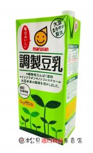 丸三調味豆乳1L【4901033630041】