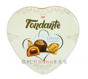 艾爾力心型盒焦糖夾心巧克力300g【8695504165298】