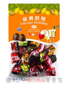 歐洲假期綜合黑酒巧克力300g【8008743024095】