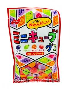 諾貝爾迷你方塊軟糖80g【4902124071446】