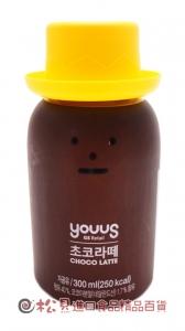 韓國黏黏怪物巧克力拿鐵300ml【8809344664846】