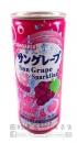 SANGARIA碳酸飲料葡萄汽水250ml【4902179018892】
