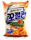 韓國LOTTE烘焙玉米脆角(蜂蜜)77g【8801062381937】