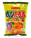 加樂比綠黃野菜心型餅55g【4901330200510】