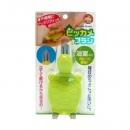 浴室烏龜型細縫刷-綠 【4995021120515】