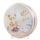 聰明小熊四味奶油曲奇餅罐(小)320g【4897069530014】