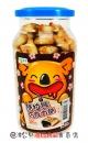威太酷拉熊巧克力餅罐200g【8858223015774】