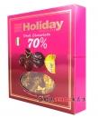 歐州假期70%黑巧克禮盒110g【8008342006218】
