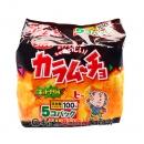 湖池屋卡拉姆久洋芋片5袋入(辣味)130g【4901335122404】