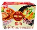 日清麵王5食包麵(醬油)510g【4902105107003】