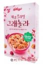 韓國櫻桃蔓越莓果實麥片480g【8801083264806】