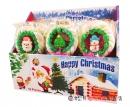 聖誕花圈棉花棒糖(支)65g【4717831107599】