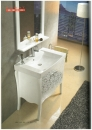 米萊復古系列-白色橡木框鏡