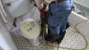 未知化糞池位置~進口精密儀器測定化糞池位置2