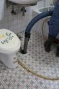 未知化糞池位置~進口精密儀器測定化糞池位置打通後清理化糞池一貫流程8