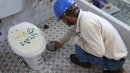 未知化糞池位置~進口精密儀器測定化糞池位置打通後清理化糞池一貫流程10
