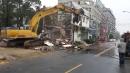 樓房拆除1