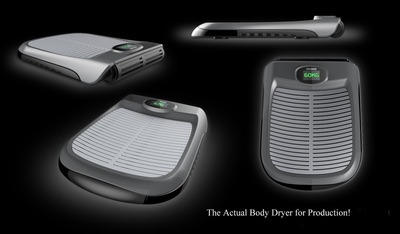 Normal the body dryer0