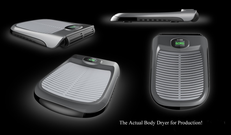 身体の乾燥をしてくれるデバイス