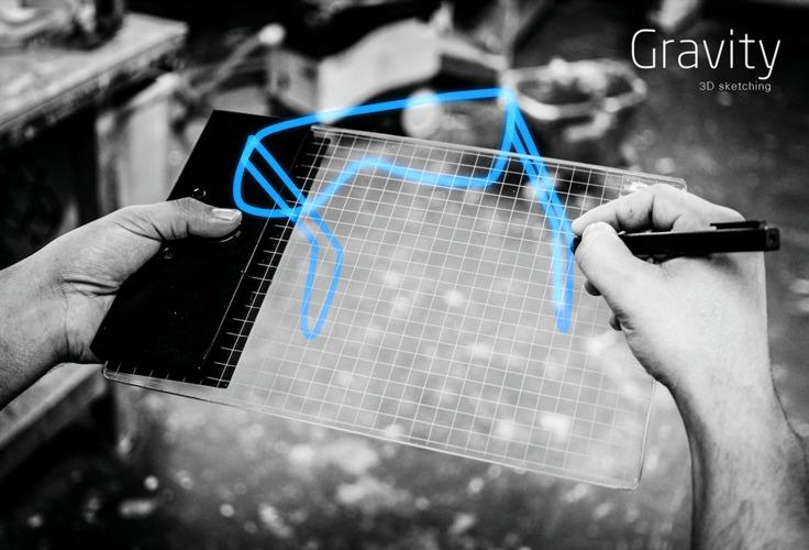 3Dオブジェクトを描けるペンタブレット