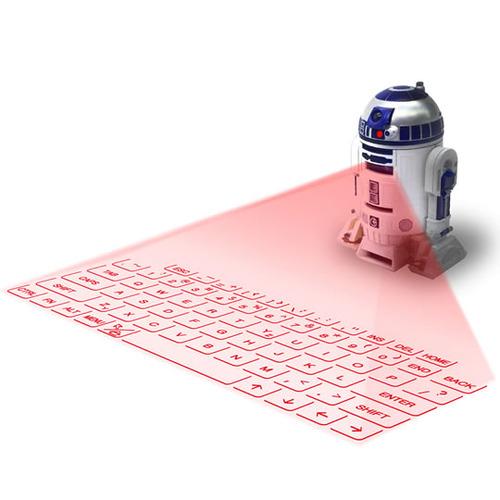 R2-D2投影式キーボード 5