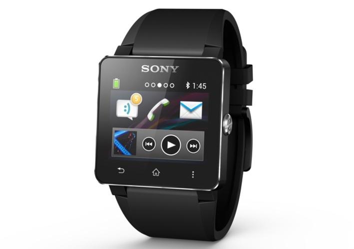 腕時計型の情報端末