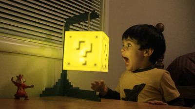 Normal the question block lamp0