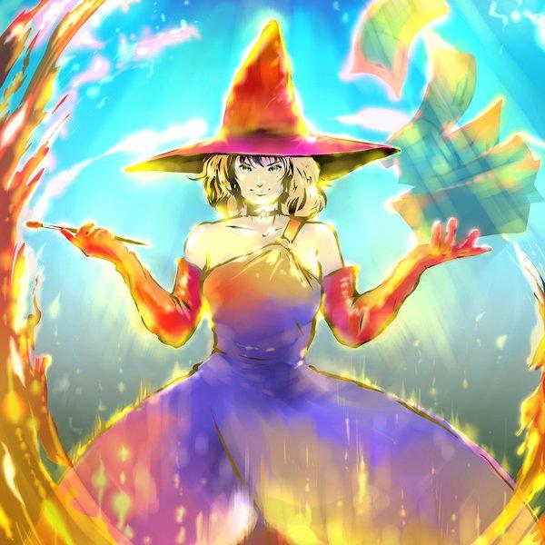 東京コミコン2019優秀作品「絵を描くときだけは魔法使い」