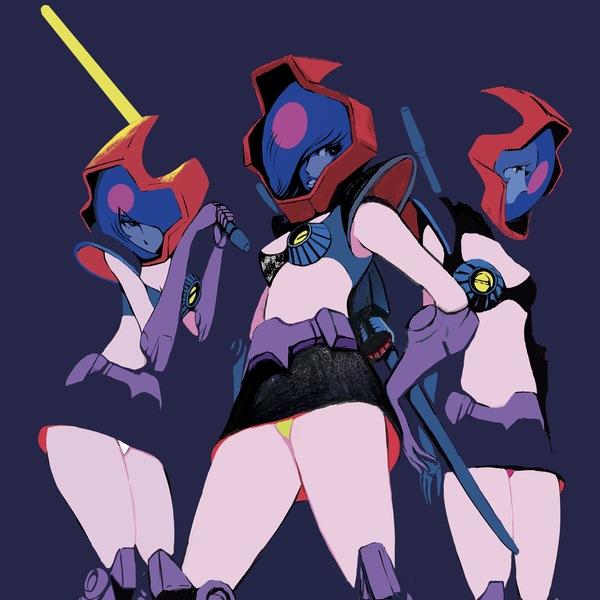 黒い3人娘