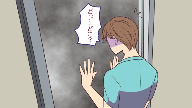 エレベーターが異界への扉化する